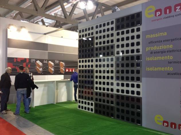 PIZ Cladding System al MADE EXPO